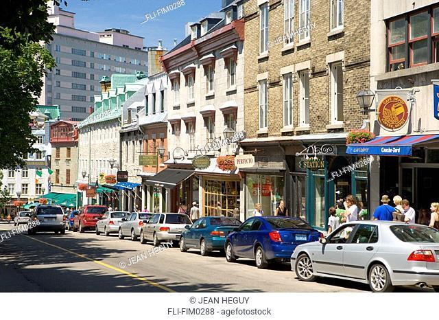 Street Scene, Montreal, Quebec
