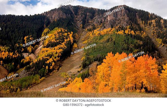 Autumn color in the San Juan Mountains of Colorado