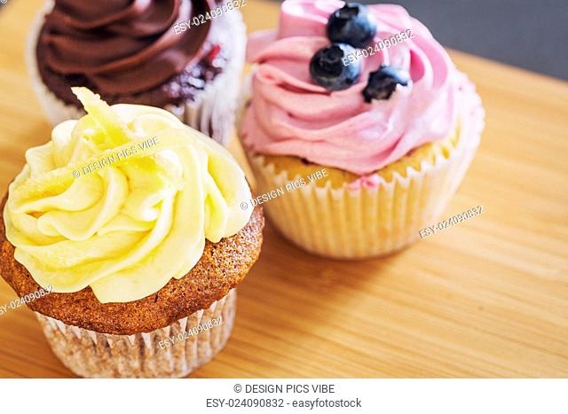 Delicious Assortment of Beautiful Cupcakes