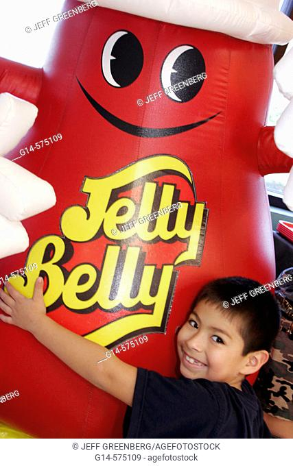Mascot. Jelly Belly Candy Store and Tour. Kenosha. Wisconsin. USA