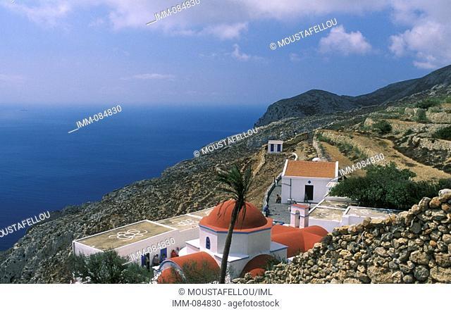Dodecanese, Kassos Agios Mamas monastery