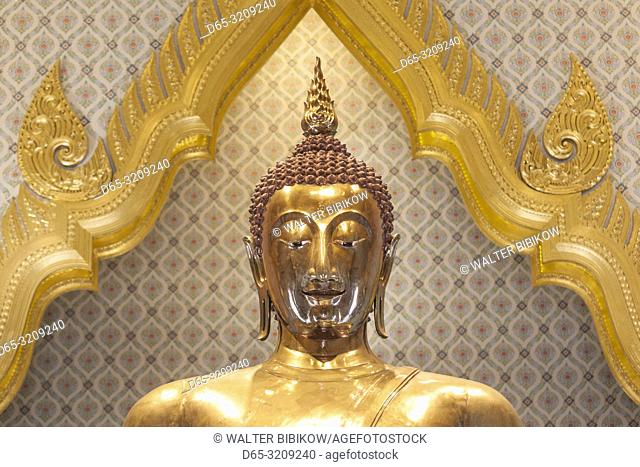 Thailand, Bangkok, Chinatown, Wat Traimit, the Golden Buddha