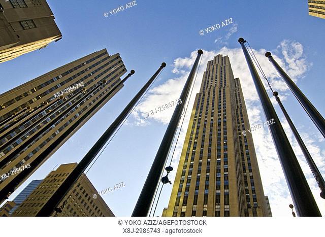 Rockfeller Center, Manhattan (New York, United States of America)