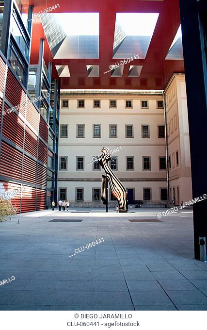 National Museum Centro de Arte Reina Sofia, Madrid, Spain, Western Europe