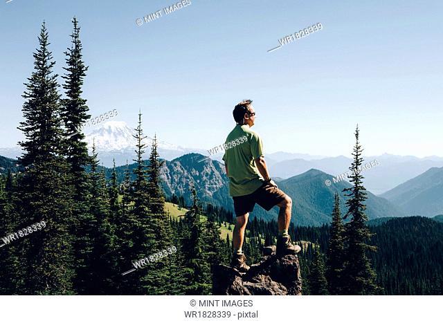 Goat Rocks Wilderness, Cascade Range, Washington, USA