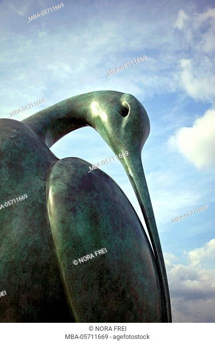 Spring, detail, sculpture, heaven
