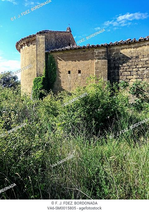 Hermitage of Concilio Village, Huesca, Aragon, Spain