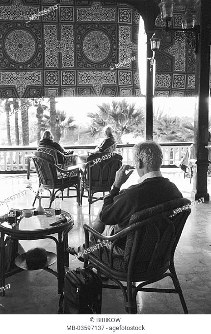 Egypt, Nubien, Assuan, alto Katarakthotel Katarakthotel