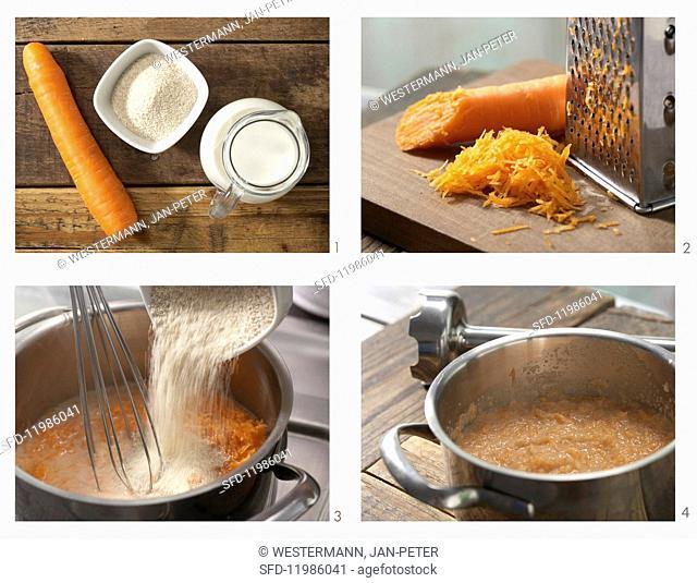 How to prepare spelt porridge with carrot