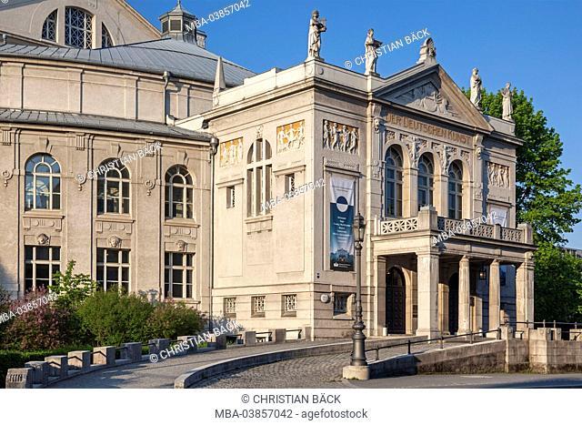 Prince Regent Theatre, Bogenhausen, Munich, Haidhausen, Upper Bavaria, Bavaria, Germany