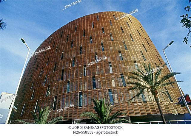 Parc de Recerca Biomèdica de Barcelona building, by Brullet and Pineda. Barcelona. Catalonia, Spain