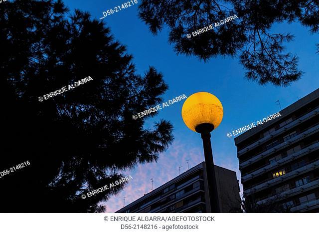 Lamp post, Valencia, Spain