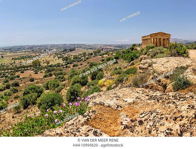 Valle di Templi, Greek temples and ruins