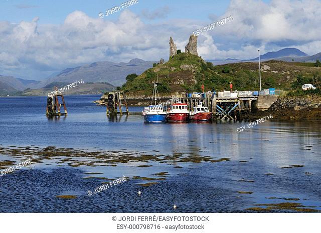 Kyleakin, Isle of Skye, Highlands, Scotland, United Kingdom, Europe
