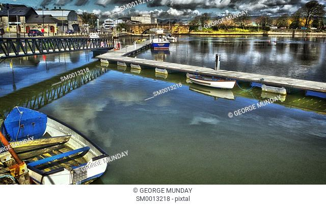 The Harbour, . Dungarvan - County Town, . County Waterford, Ireland