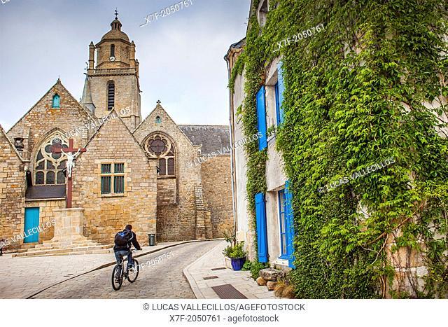 Eglise Saint Guénolé, Batz-sur-Mer, Guerande, Loire Atlantique, France