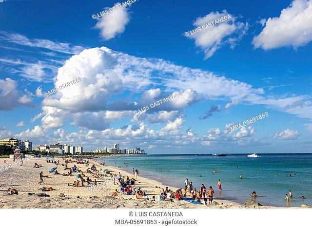 South Point, Miami Beach, Florida, the USA