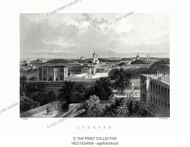 Lucknow, capital city of the state of Uttar Pradesh, India, 19th century