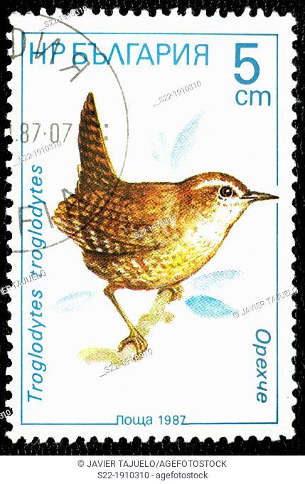 Stamp, Bulgaria