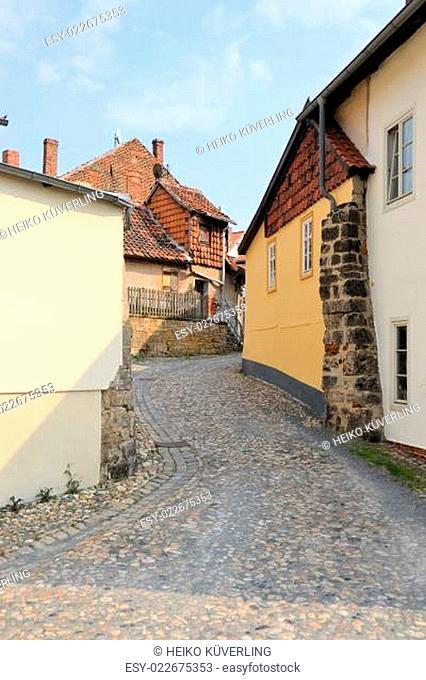 auf dem Münzenberg in Quedlinburg