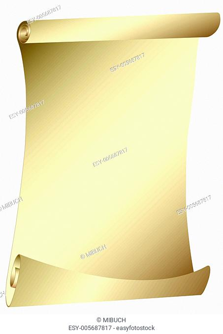 old scroll - parchment - vector