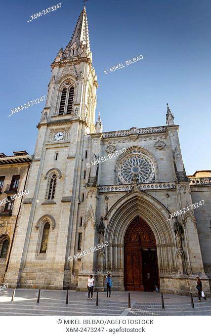 Santiago Cathedral. Bilbao, Biscay, Spain, Europe