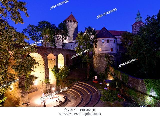 Stadtschlaining, castle, Südburgenland, Burgenland, Austria