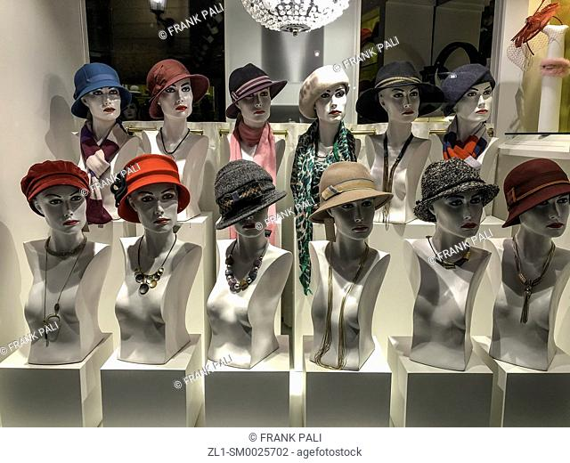Hat shop on Passau Germany