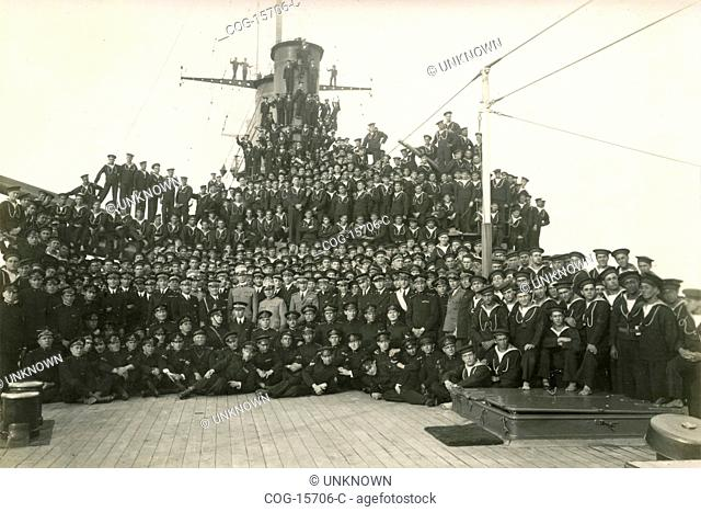 Prince of Piedmont trip to Africa and Palestine: sailing, Prince Umberto among the crew of the ship St. George