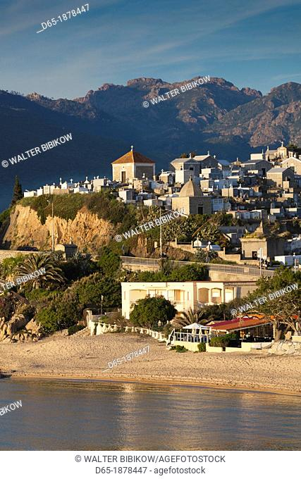 France, Corsica, Corse-du-Sud Department, Corsica South Coast Region, Propriano, town cemetery