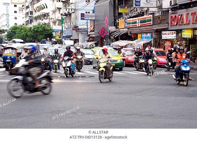 MOTOR CYCLE & SCOOTERS; BANGKOK, THAILAND; 04/04/2010