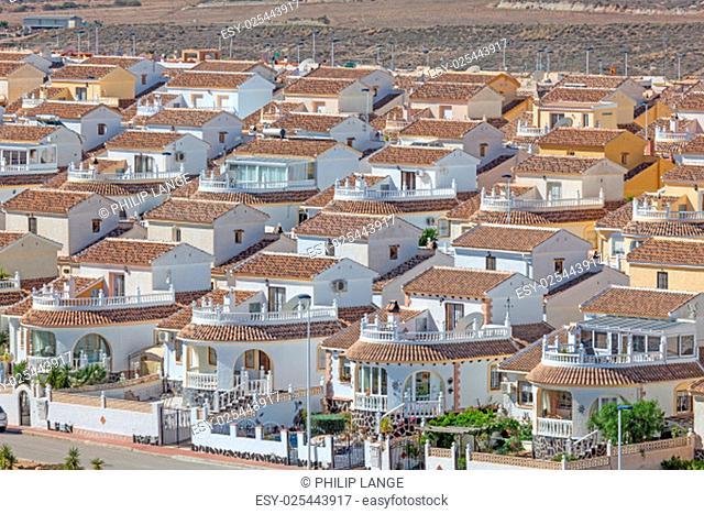 Vacation homes in the urbanisation Camposol, Region Murcia, Spain