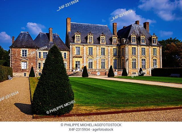 France, Loiret, Sologne, La Ferte Saint Aubin Castle