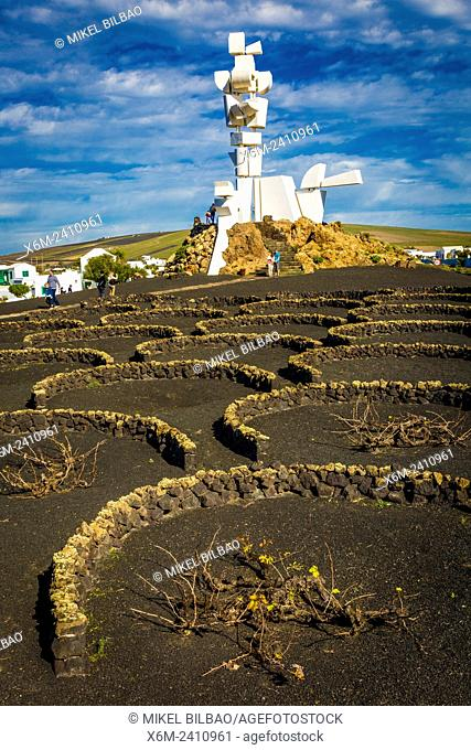 Monument to the Farmer. Casa Museo del Campesino. San Bartolome. Lanzarote, Las Palmas, Canary islands, Spain, Europe