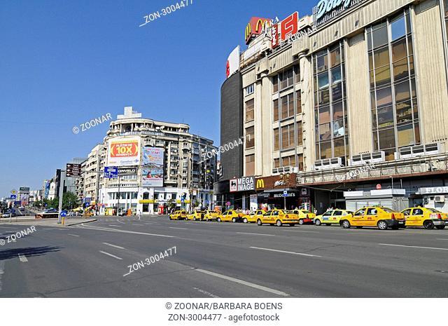 Piata Unirii, square, Bucharest, Romania, Eastern Europe, Piata Unirii, Platz, Bukarest, Rumaenien, Osteuropa