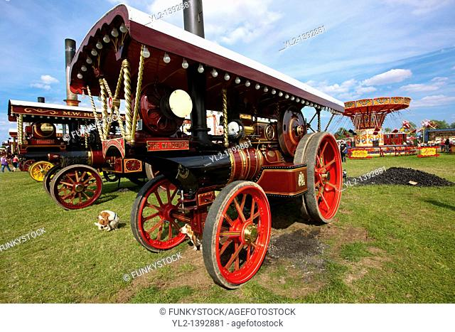 'The Wanderer' A John Fowler of Leeds Steam traction engines