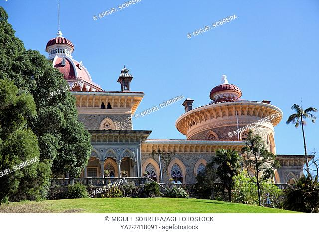 Monserrate Palace Villa and Grounds - Sintra Portugal