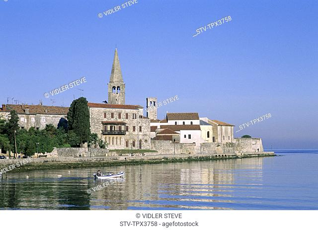 Croatia, Europe, Harbour, Holiday, Istria, Landmark, Porec, Region, Skyline, Tourism, Town, Travel, Vacation