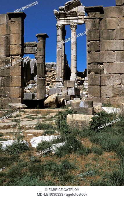 Roman religious cult - Main temple of a Goddess
