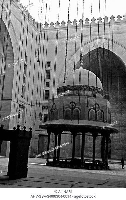 Interior of the Mosque Mohammed Ali, Cairo (1824-1857), shot 31/12/1958 by Brunner, Giorgio