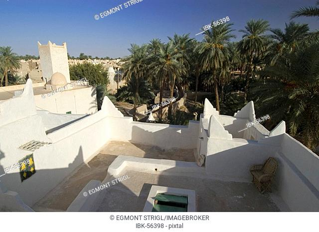 Palm garden of Ghadames, Ghadamis, Unesco world heritage site, Libya