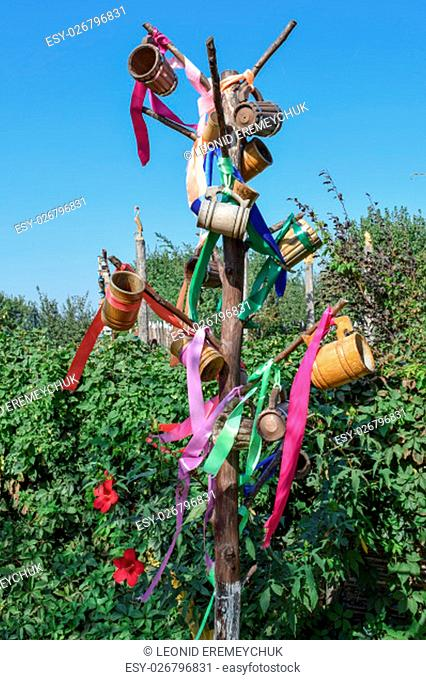 Stick with hung at her beer steins and ribbons. Wish Tree