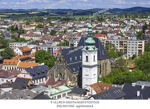 Klatovy, Czech Republic - Archdean parish church of the Nativity of Virgin Mary