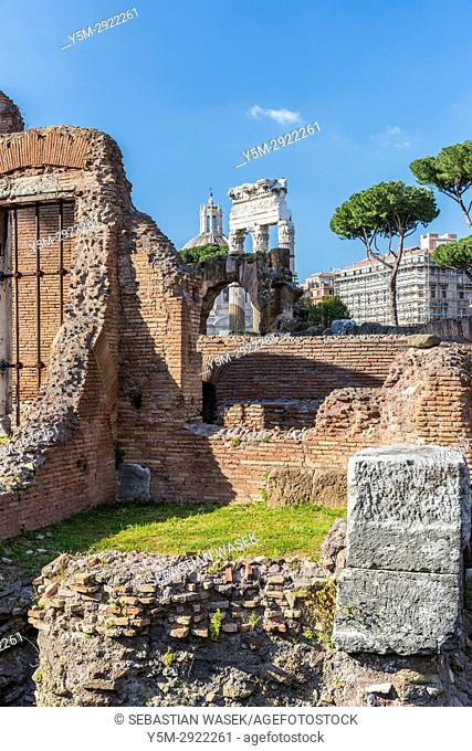 Forum of Caesar, Rome, Lazio, Italy, Europe
