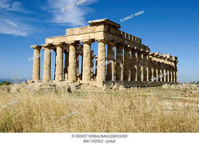 Tempel E (Temple of Hera), Selinunte, Sicily, Italy