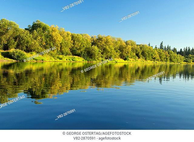 Willamette River, Willamette River Greenway, Polk County, Oregon