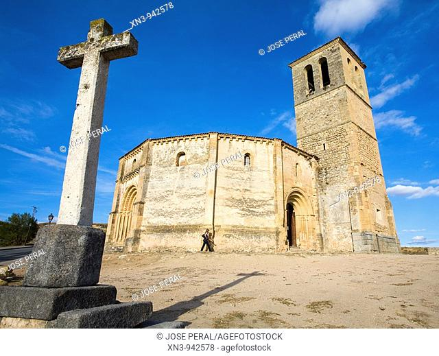 Church of Vera Cruz, Segovia. Castilla-Leon, Spain