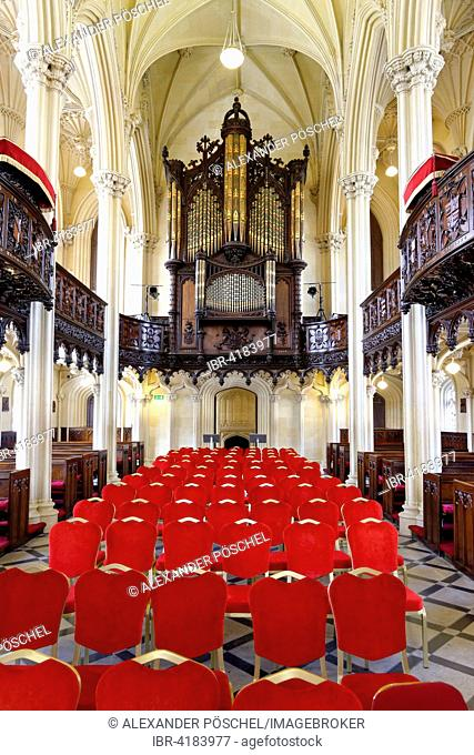 Interior, Chapel Royal, Dublin Castle, Temple Bar, Dublin, Leinster, Ireland