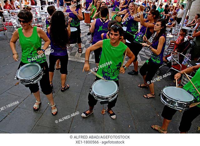 drums, festival, Manresa, Catalonia, Spain