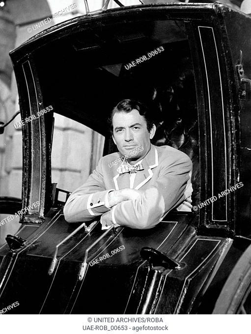 The Million Pound Note, Großbritannien 1954, aka: Sein größter Bluff, Regie: Ronald Neame, Darsteller: Gregory Peck